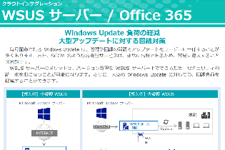 WSUS サーバー / Office 365